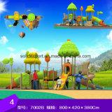 다채로운 옥외 큰 조합 활주