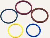 Anel-O colorido alta qualidade da borracha de ISO9001 Viton