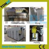 Máquinas de processamento do pó do gengibre do alho da fruta e verdura