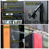 OEM Kiosk van Info van de Vertoning van de Reclame LCD van het Scherm van de Aanraking de Openlucht