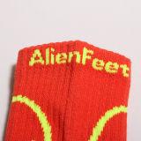 Dell'OEM anti di pattino del trampolino su ordine di marchio calzino di franamento non