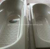 Strato acrilico bianco del grado sanitario PMMA per la stanza di lavaggio della vasca da bagno