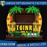 Medaglia 2016 del metallo di vendita diretta della fabbrica della Cina per il regalo di promozione