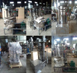 Maquinaria del molino de petróleo de coco de Moringa del cacahuete del sésamo de la almendra del cacahuete