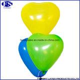 De groene Gevormde Ballons van het Huwelijk van het Latex 100PCS Hart