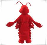 Preço do traje dos desenhos animados da mascote da lagosta bom
