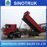 Caminhão de Tipper novo da descarga de Sinotruk HOWO 10wheelers do tipo para a venda