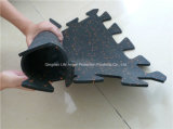 Pavimentazione di gomma di collegamento di gomma della stuoia SBR EPDM di prezzi bassi