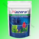 Fertilizzante fogliare organico con l'estratto dell'alga