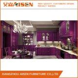 Estilo de Ilha American Kitchen Cabinet Projeto de cozinha modular de madeira maciça