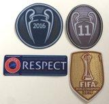 La FIFA 2016 raccordent les champions 2016-2017 du monde de club de connexion de chemise du football d'insigne du Jersey Undecima du football