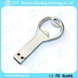 Movimentação do flash do USB do abridor de frasco do metal do presente da exposição da cerveja (ZYF1745)