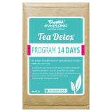 De kruiden Thee van Detox van het Verlies van het Gewicht (de Thee van de Verhoging van de Ochtend de Infusies van 14 dagen)