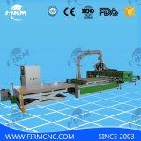 Carga automática e descarga da máquina do roteador CNC Atc