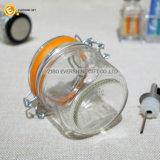 Luftdichte Kappen-Glasgewürz-Glas-Nahrungsmittelbehälter