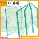 Glace enrichie de balustrade renforcée par construction transparente de balcon