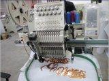 단 하나 헤드 15 색깔 고속 자수 기계를 보는 Sequin에 의하여 전산화되는 Embroiedry 기계