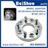 Geschmiedeter und silberner Aluminiumrad-Adapter