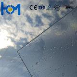 matières premières en verre de revêtement en verre Tempered de panneau solaire de feuille de 3.2mm picovolte pour le panneau solaire