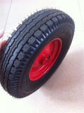 400-8 neumático de la carretilla 4pr, rueda de la carretilla, neumático de rueda de la carretilla