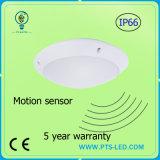 Indicatore luminoso di soffitto rotondo del sensore di movimento di microonda del radar di emergenza 20W 30W 40W IP65 LED