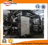 Impresión plástica de la impresora 4 del HDPE flexográfico del color