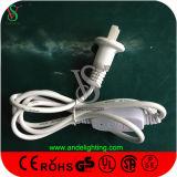het Licht van het Koord van de Kabel van 10m100LEDs 110V pvc