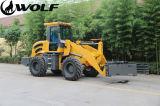 Carregador Zl28f da roda do lobo da maquinaria agricultural