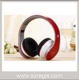 Цветастый складной басовый беспроволочный шлемофон Bluetooth V2.1