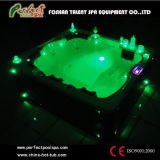 Hot Tubs Massage Whirlpool Außen Jacuzzi Spas mit LED-Licht