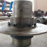 Accoppiamento elastico dell'attrezzo del timpano con l'acciaio del disco del freno