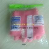 China tasa directo el tipo de la almohadilla que fluyen los guantes de goma empaquetadora