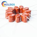 Condensator van de Film van het Polypropyleen van de Condensator van de film (CBB22 104J/630V) de Kleine Gemetalliseerde