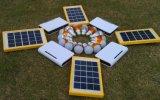 Система 3 наборов освещения батареи лития шариков СИД солнечная