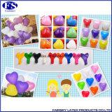 De in het groot Ballons van het Latex van de Ballons van de Partij van de Hoogste Kwaliteit Kleurrijke Hart Gevormde