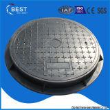 En124 D400 verschließbarer wasserdichter Einsteigeloch-Hochleistungsdeckel