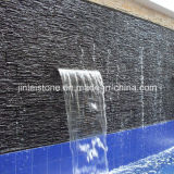 Black naturale Rough Slate Cultured Stone per Wall Decoration