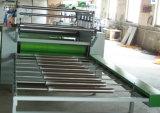 La macchina di carta granulosa di legno del bastone con liscio e preme con calma