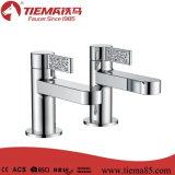 Único Faucet gêmeo de bronze frio do banheiro (TMK41703)