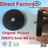 Directe Fabriek van het Permanente Met een laag bedekte Rubber van het Neodymium/Deklaag/het Behandelen van de Pot/de Tang van de Magneet