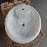 De mooie Chinese Marmeren Gootsteen van de Steen van het Mozaïek, het Bassin van de Was voor Badkamers