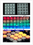 Kundenspezifischer elastomerer Silikon-Gummi-Fernsteuerungstastatur-Tastaturblock