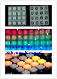 Teclado de controle remoto Elastomeric personalizado do teclado da borracha de silicone