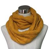 Mulheres Moda Acrílico Cashmere Pashmina malha de malha de inverno infinito (YKY4186)