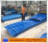 Hoja esmaltada del material para techos del azulejo PPGI