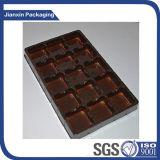 Customiezed Plastikschokoladen-Tellersegment mit irgendeiner Form