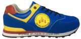 Zapatillas de deporte de cuero de la comodidad de los zapatos de los deportes de los hombres atléticos (815-2441)
