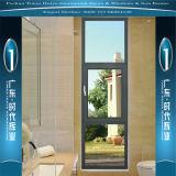 Örtlich festgelegtes Aluminiumfenster mit unterschiedlicher Farbe
