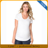 Vêtements drôles de maternité de femmes de coton de la coutume 100
