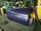 La bobina de acero cubierta color/galvanizó el material de acero del acero de la bobina